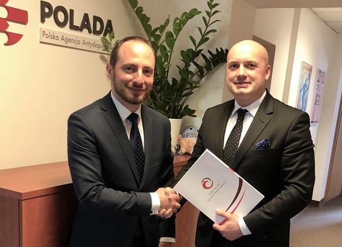 Porozumienie o współpracy antydopingowej pomiędzy PKSN i POLADA